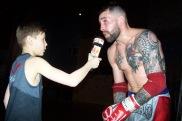 ROBIN boxeur et journaliste